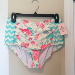 High Waisted Swim bottoms